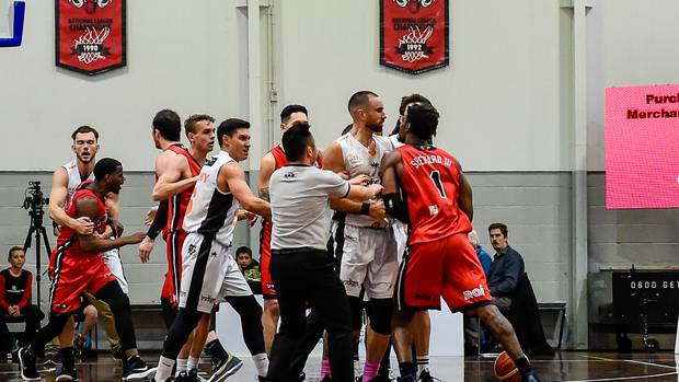 Hawks put Canterbury Rams on the barbie despite skirmish in the second half